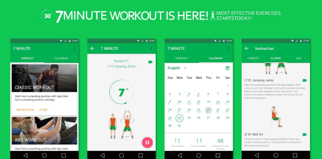 7 Minute Workout Pro APK 2