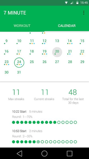 7 Minute Workout Pro APK 4